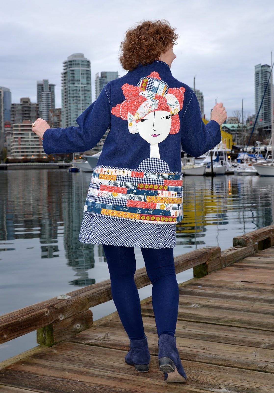 Marcy Tilton Vogue Pattern 9035, Vogue Pattern V9035