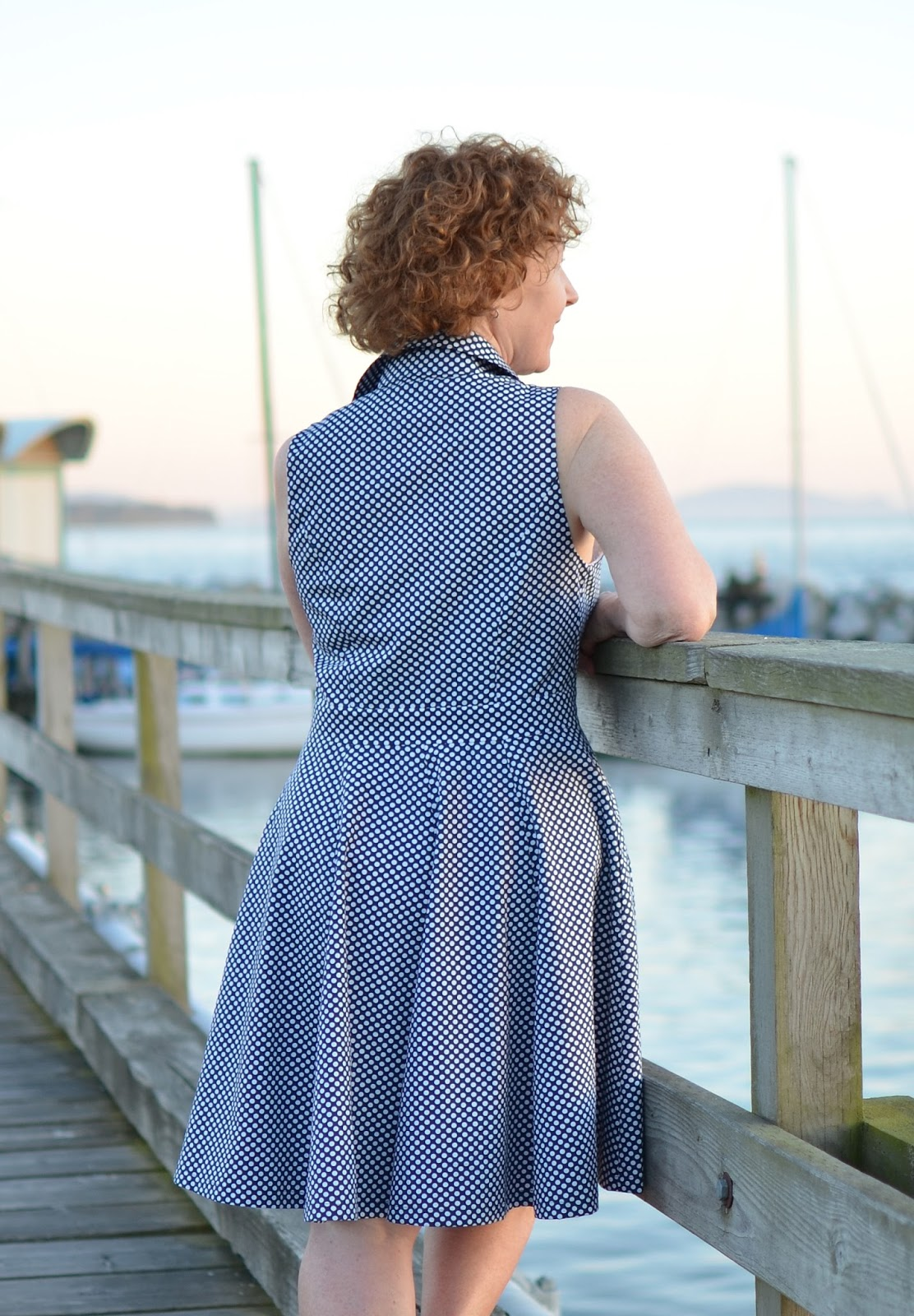 Kwik Sew Shirtdress, K4155
